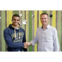 Ny sponsoravtale for Hakeem Teland