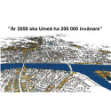 Umeås ungdomar skapar framtidsbilder om en hållbar stad 2030
