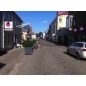Nu lägger vi gatsten på Västra Sjögatan