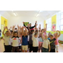 Buckie pupils take to the floor for sponsored zumbathon with Sean Batty