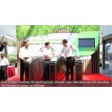 SMRT Chairman, Mr Koh Yong Guan, Minister Khaw Boon Wan, and SMRT CEO Desmond Kuek at the opening of Woodlands Xchange