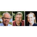SLU:s förtjänstmedaljer 2016 till Danell, von Bothmer och Westin