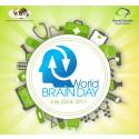 Das Logo des Welttags des Gehirns (World Brain Day) 2017