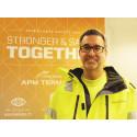 Möt Sean Jaderwald, huvudskyddsombud på  APM Terminals i Göteborg