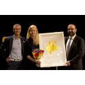 Maria Gårdlund på Sweco Strategy vann Guldhuset
