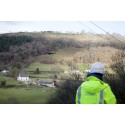 Drone helps lift rural Welsh valley village to ultrafast speeds
