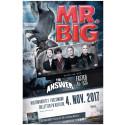 Mr. BIG + The Answer og Faster Pussycat på lørdag i Helsingør