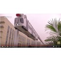 Video: Trial for China's first sky train