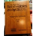 RES' Community Outreach at Roos Wind Farm Fund Recognised by Regional Award