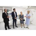 Sjukvårdsministern imponerades av Lindesbergs lasarett