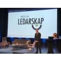 Niklas Nordström lyfte Nolia Ledarskaps betydelse under konferensens öppningsdag i Luleå