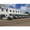 Esig Transport med seks nye Scania