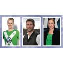 Nilla Fischer, Victoria Sandell Svensson och Thomas Hitzlsperger är officiella Ambassadörer för EuroGames Stockholm 2015