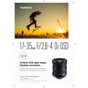 Tamron 17-35mm f/2.8-4 leaflet