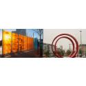 Nu invigs konstverken Passage och Wind Wall vid Malmö Live
