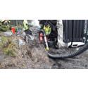 Uppdaterad - Saneringsarbete efter olycka i Östhammar