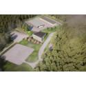 Inbjudan - KSRR tar första spadtaget till sitt nya huvudkontor i Moskogen