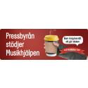 PRESSBYRÅN VÄRMER UPP MUSIKHJÄLPEN MED KAFFE