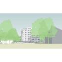 Grönt ljus för 100 nya lägenheter i Lund