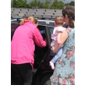 Child car seat clinics – steps in the right direction