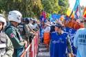 Demonstration i Kambodja