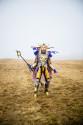 Japan byter om - Cosplay stående bild