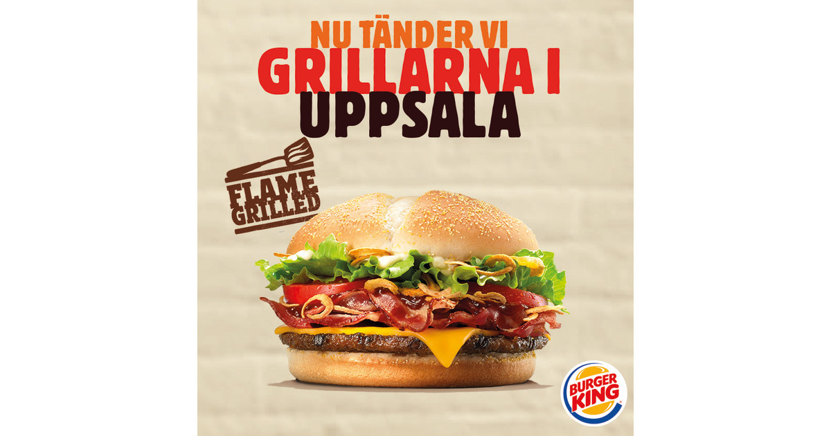 Burger king uppsala