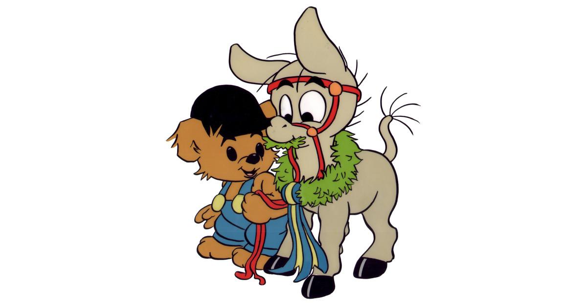 bamse och den lilla åsnan