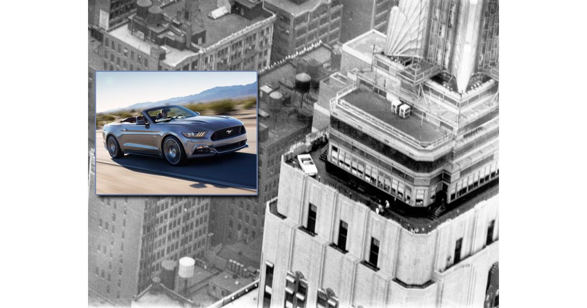 Ford mustang firar 50 rsjubileum med utst llning i empire Ford motor company press release