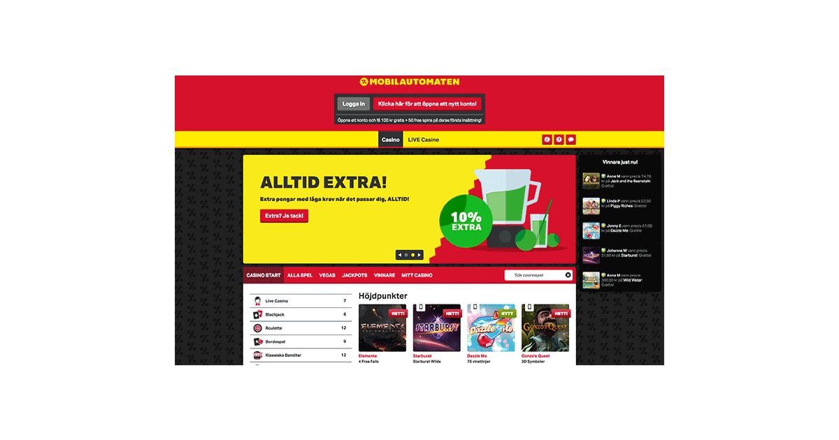 svenska online casino novo automaten