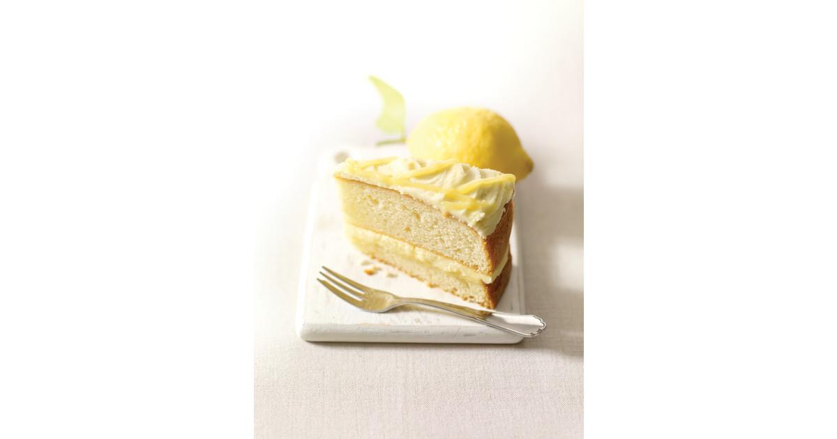 Costa Coffee Lemon Cake
