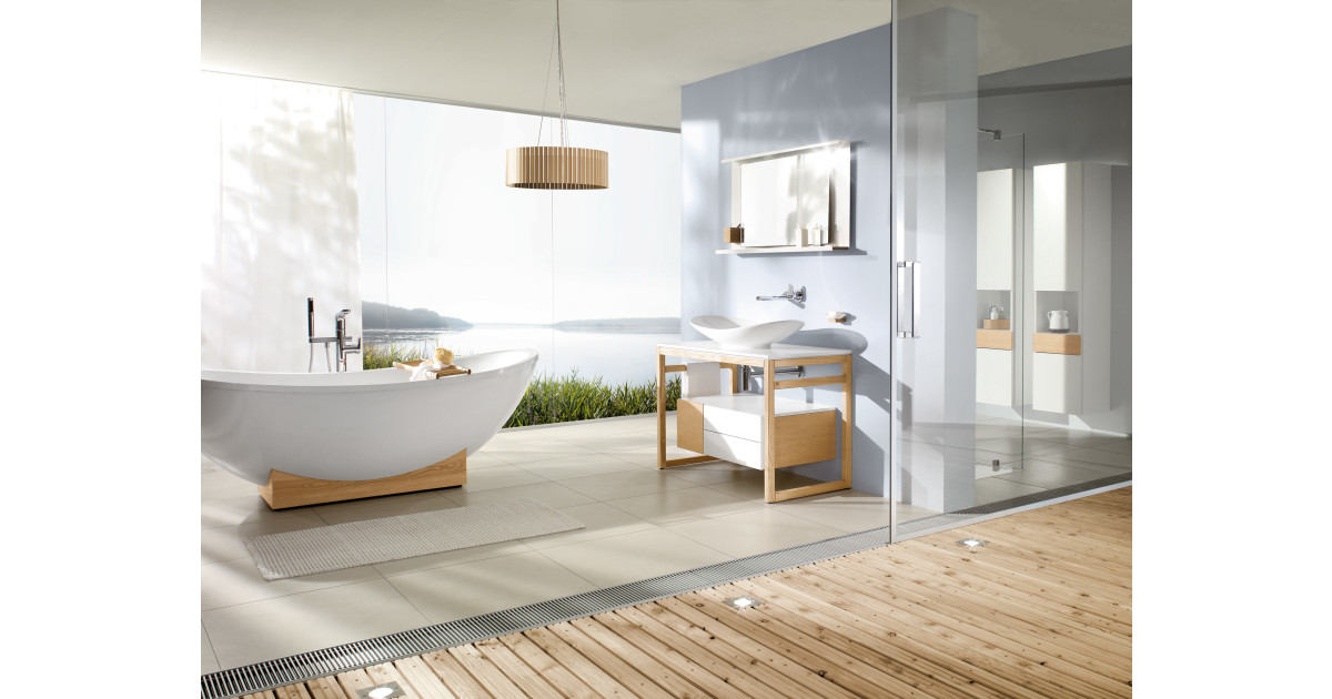ta in naturen i badrummet med my nature fr n villeroy boch villeroy boch gustavsberg. Black Bedroom Furniture Sets. Home Design Ideas