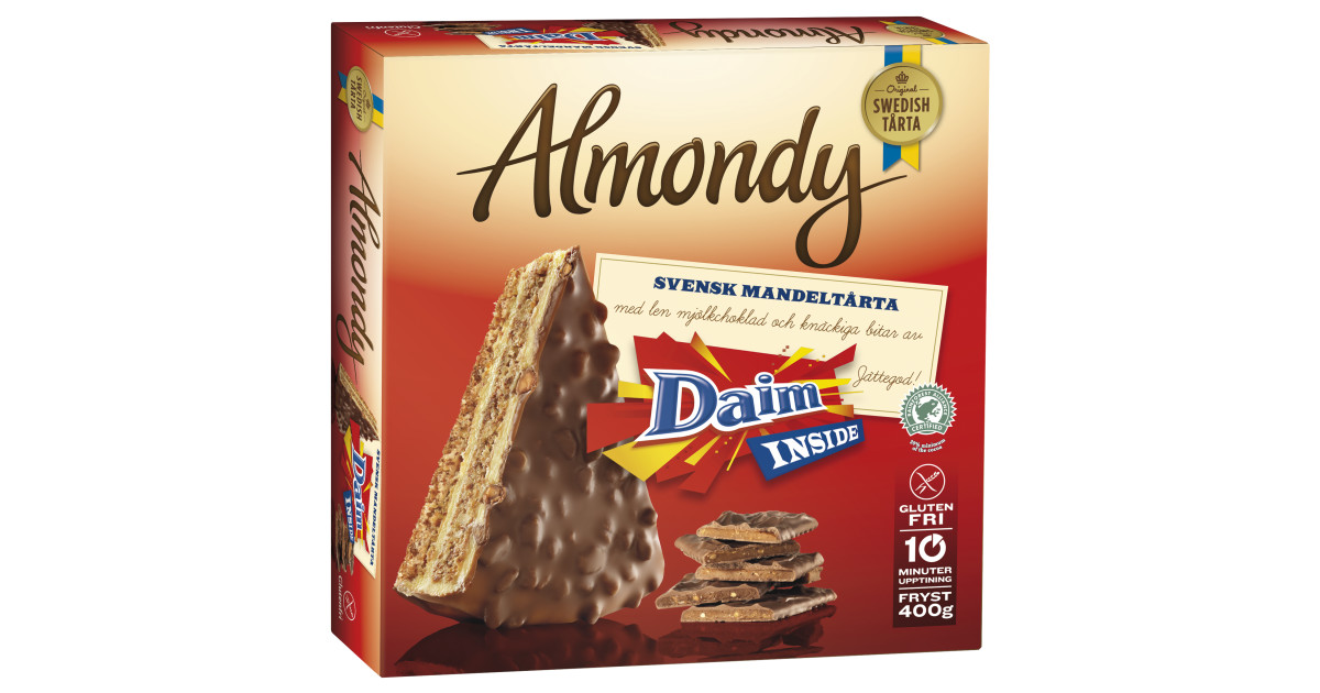 Almondys tårtor får en ny och kaxigare kostym - Almondy AB Almondy Ab