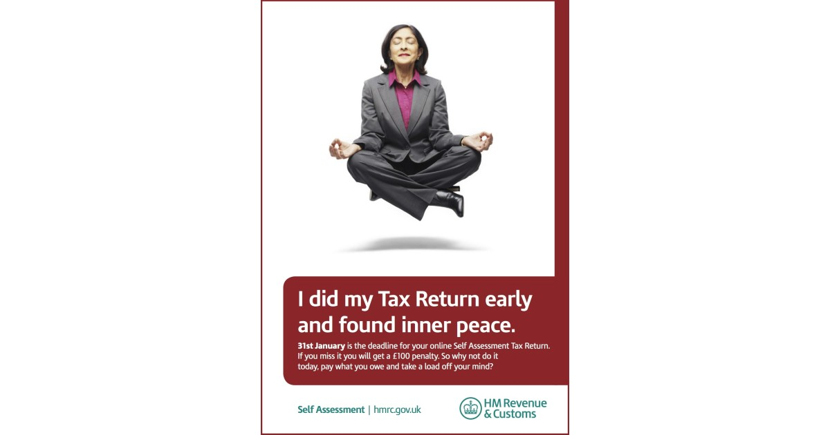 Sa campaign press ad hm revenue customs hmrc - Hm revenue and customs office address ...