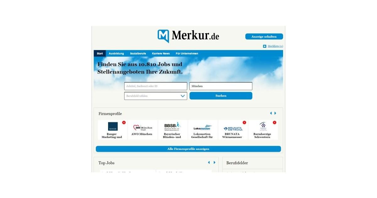 www.merkur-online.de stellenangebote