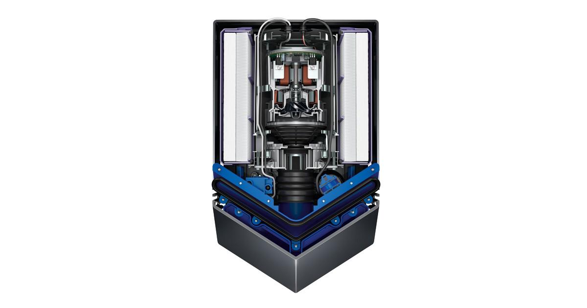 dyson airblade v h ndetrockner cutaway dyson. Black Bedroom Furniture Sets. Home Design Ideas