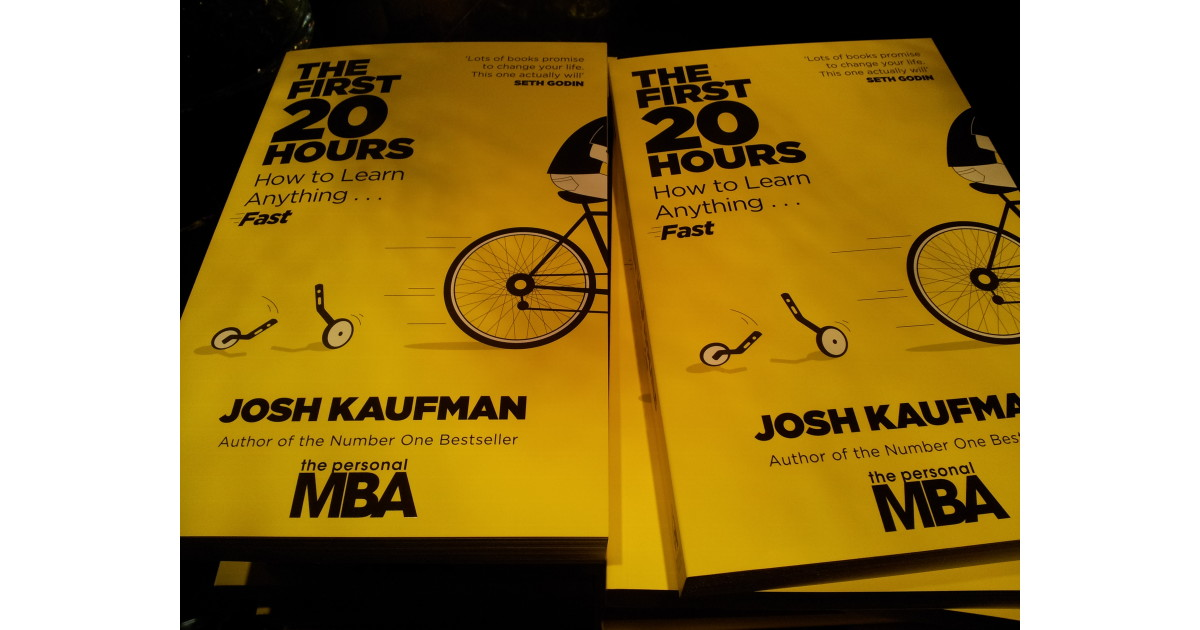 The first 20 hours -- how to learn anything | Josh Kaufman ...