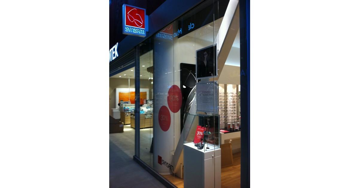 Synsam ppnar ny butik i gallerian mobilia femte butiken for Mobilia network