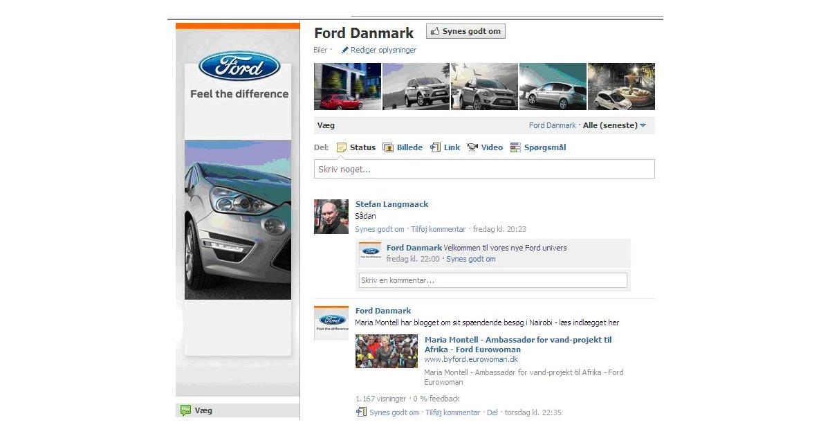 ford danmark p facebook ford motor company