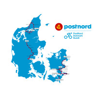 Her er PostNord Danmark Rundt-ruten 2018