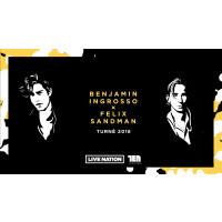 Benjamin Ingrosso och Felix Sandman kommer tillsammans till Kulturens hus i höst!