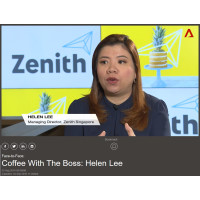 Zenith's Helen Lee reaches the top in her career ...and media interviews