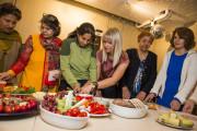 Matpakkereglene på kvinnekafé