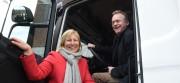 TINE har lansert Oslos første hybridlastebil