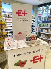 E+® godt mottatt av både apotek og apotekkunder!