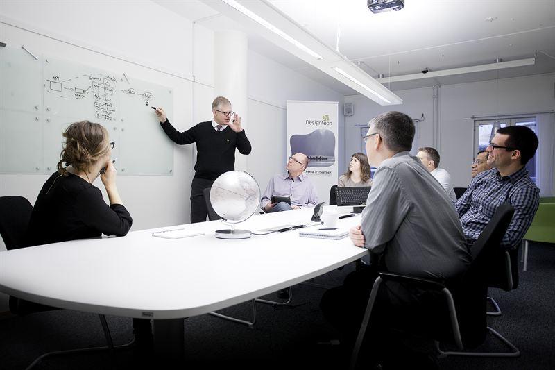 Designtech fokuserar på tillväxt