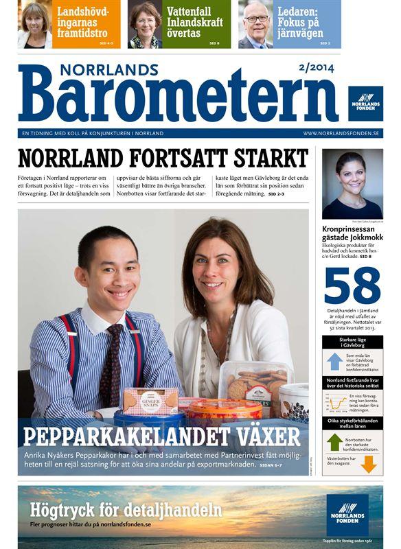 Fortsatt starkt läge hos norrländska företag - Norrbotten på förstaplatsen
