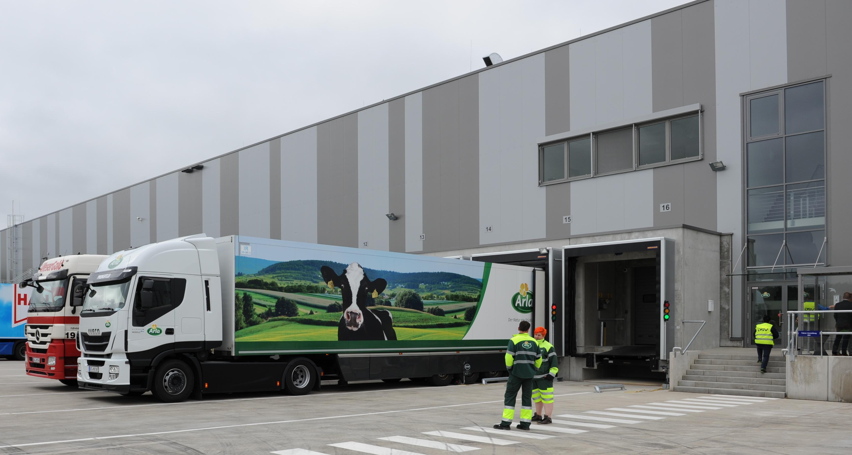 Arla opens new distribution terminal near Hamburg