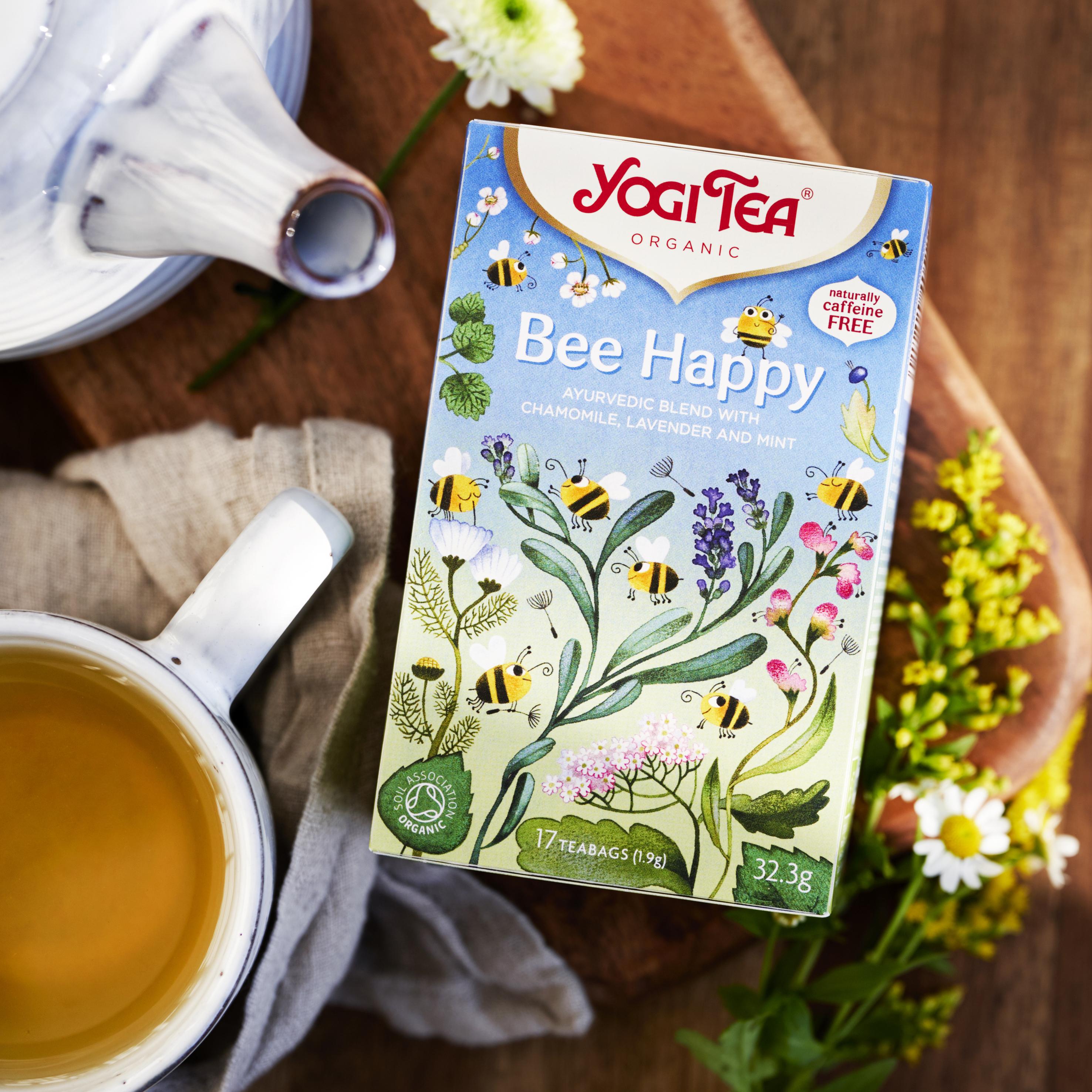 Nytt spännande te från Yogi Tea som hjälper våra vilda bin