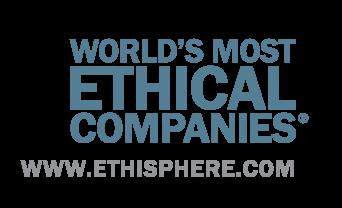 Kåret til et av verdens mest etiske selskap for sjette år på rad